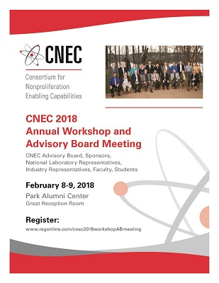 2018 CNEC Annual Workshop & Advisory Board Meeting Registration is LIVE