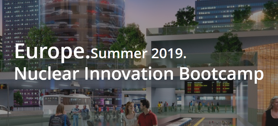 2019 Nuclear Innovation Bootcamp Applications Are Now Open