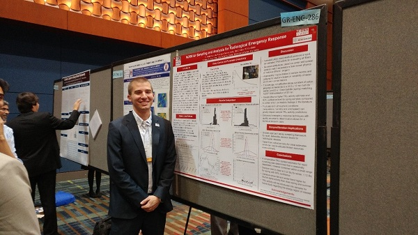 Sigma Xi Best Graduate Engineering Poster Awarded to CNEC Fellow Joseph Cope